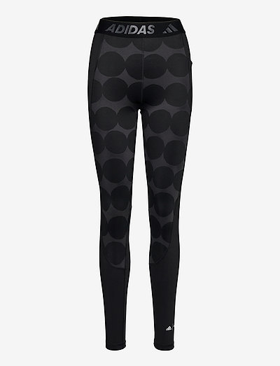 Marimekko Räsymatto Techfit High Waist Long Tights W - running & training tights - black