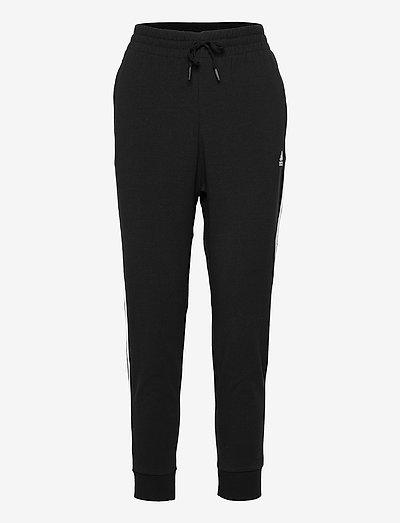 Essentials 3-Stripes 7/8 Pants W - bukser - black/white