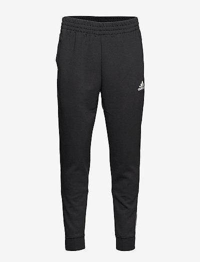 Essentials Matte Cut 3-Stripes Pants - sweatpants - black/white