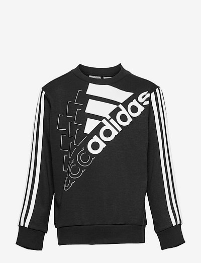 Essentials Logo Sweatshirt (Gender Neutral) - sweatshirts - black/white