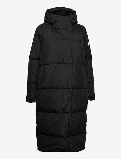 Big Baffle Down Coat W - parkacoats - black