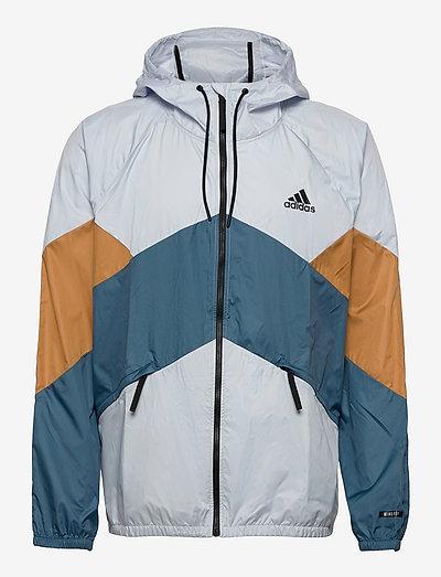 Back to Sport WIND.RDY Jacket - sportjackor - halblu/mesa