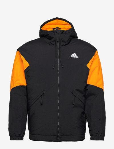 Back to Sport Insulated Hooded Jacket - friluftsjackor - black