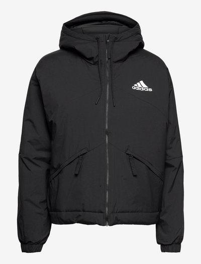 Back to Sport Hooded Insulated Jacket W - træningsjakker - black