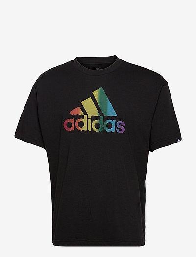 Pride Logo Graphic Tee (Gender Neutral) - t-shirts - black/multco