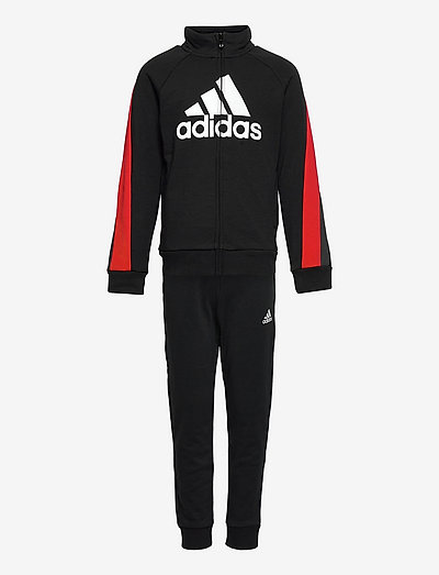 Colorblock Big Badge of Sport Track Suit - trainingsanzüge & 2-teilige sets - black/vivred/white