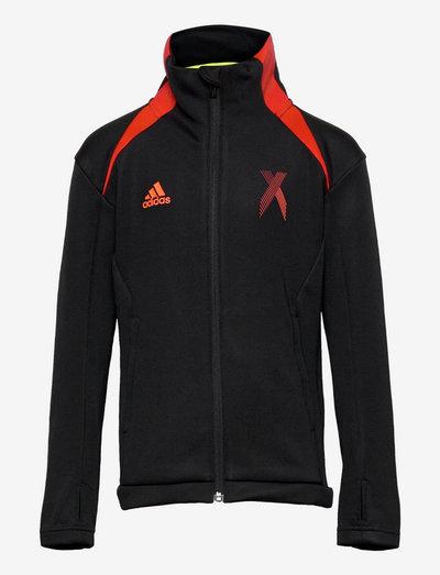 AEROREADY X Football-Inspired Track Top - lette jakker - black/red