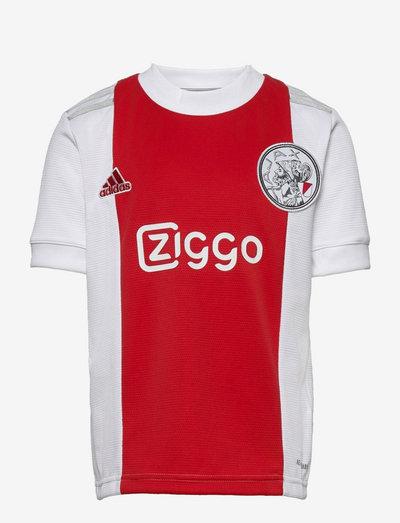 Ajax Amsterdam 21/22 Home Jersey - fodboldtrøjer - white/tmcord