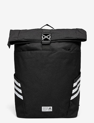 Classic Roll-Top Backpack - nyheter - black/white