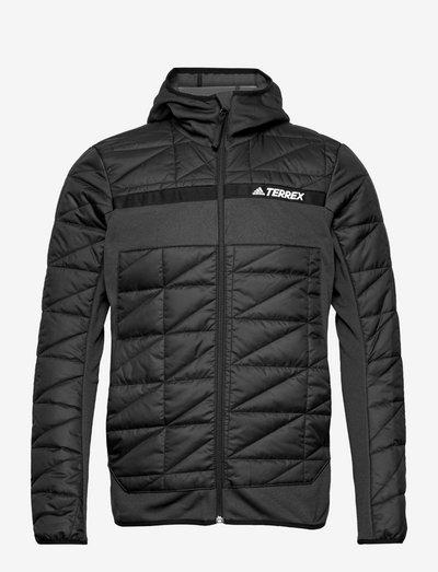 Terrex Multi Primegreen Hybrid Insulated Jacket - frilufts- og regnjakker - black