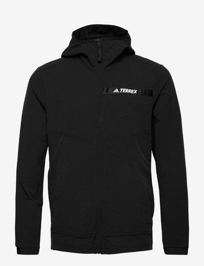 Terrex Multi Stretch Softshell Jacket - frilufts- og regnjakker - black