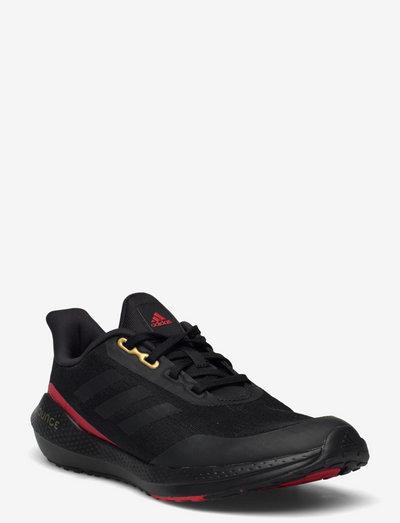 EQ21 Run - running shoes - cblack/cblack/vivred