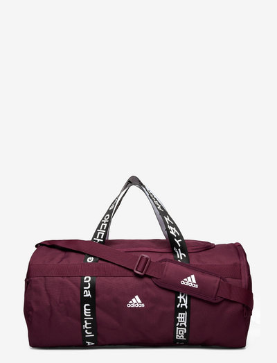 4ATHLTS Duffel Bag Medium - sportsbagger - viccri/white