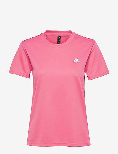 AEROREADY Designed To Move Tee W - t-shirts - roston/white