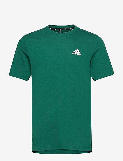 AEROREADY Designed To Move Feelready Sport Tee - t-shirts - cgreen/white