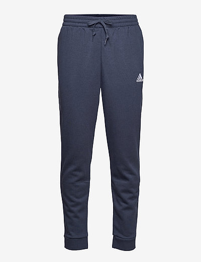 Essentials Fleece Regular Fit Tapered Cuff Pants - sweatpants - legink/white
