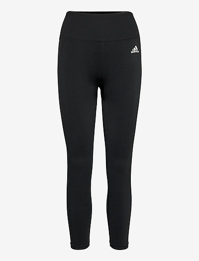 Aeroknit Yoga Seamless High Waist 7/8 Tights W - løpe- og treningstights - black