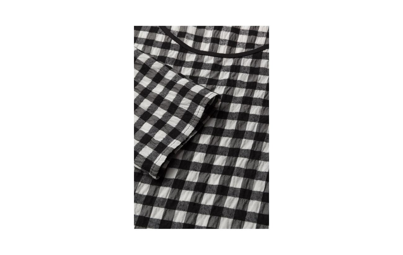 Multi Sleeve Long Coton Coloured 100 Top Frilled Áeron BUWAO7U