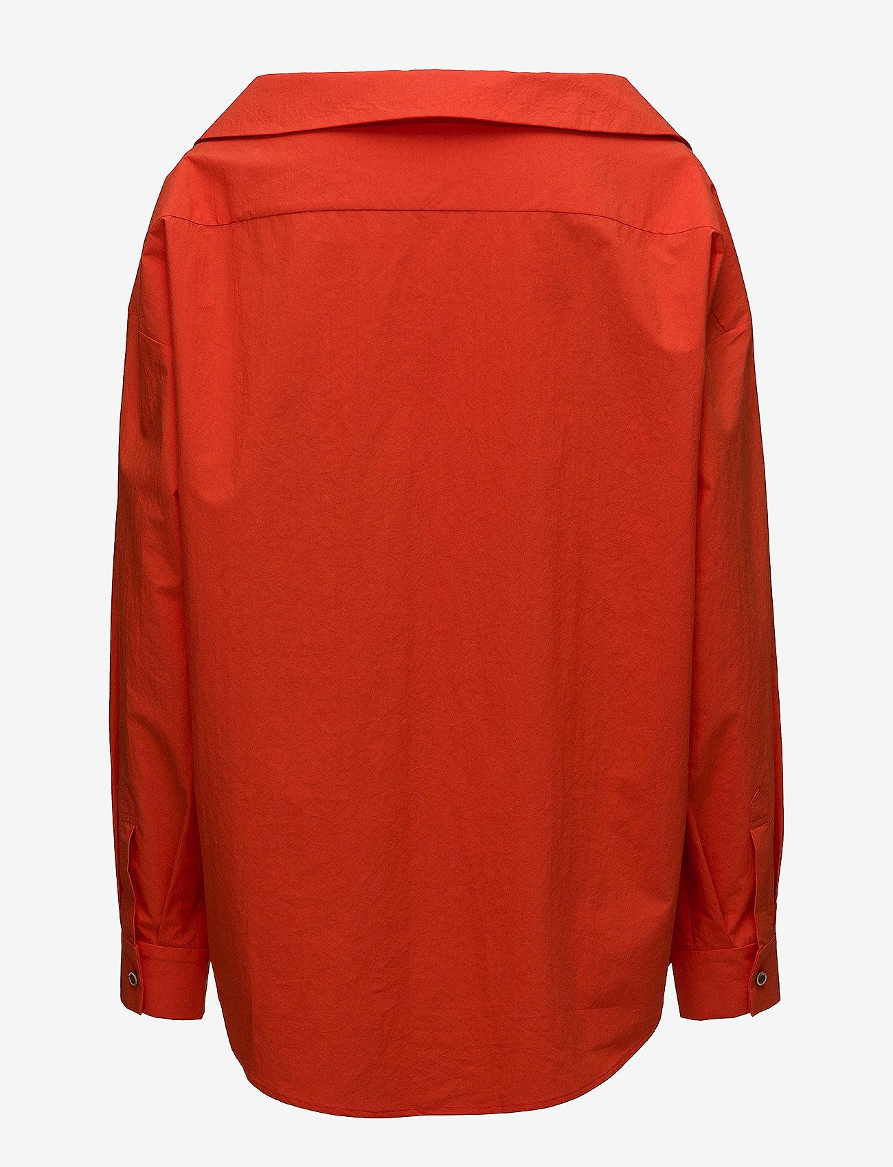 Wide V-neck Shirt  - ÁERON