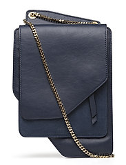 chain bag - DARK BLUE