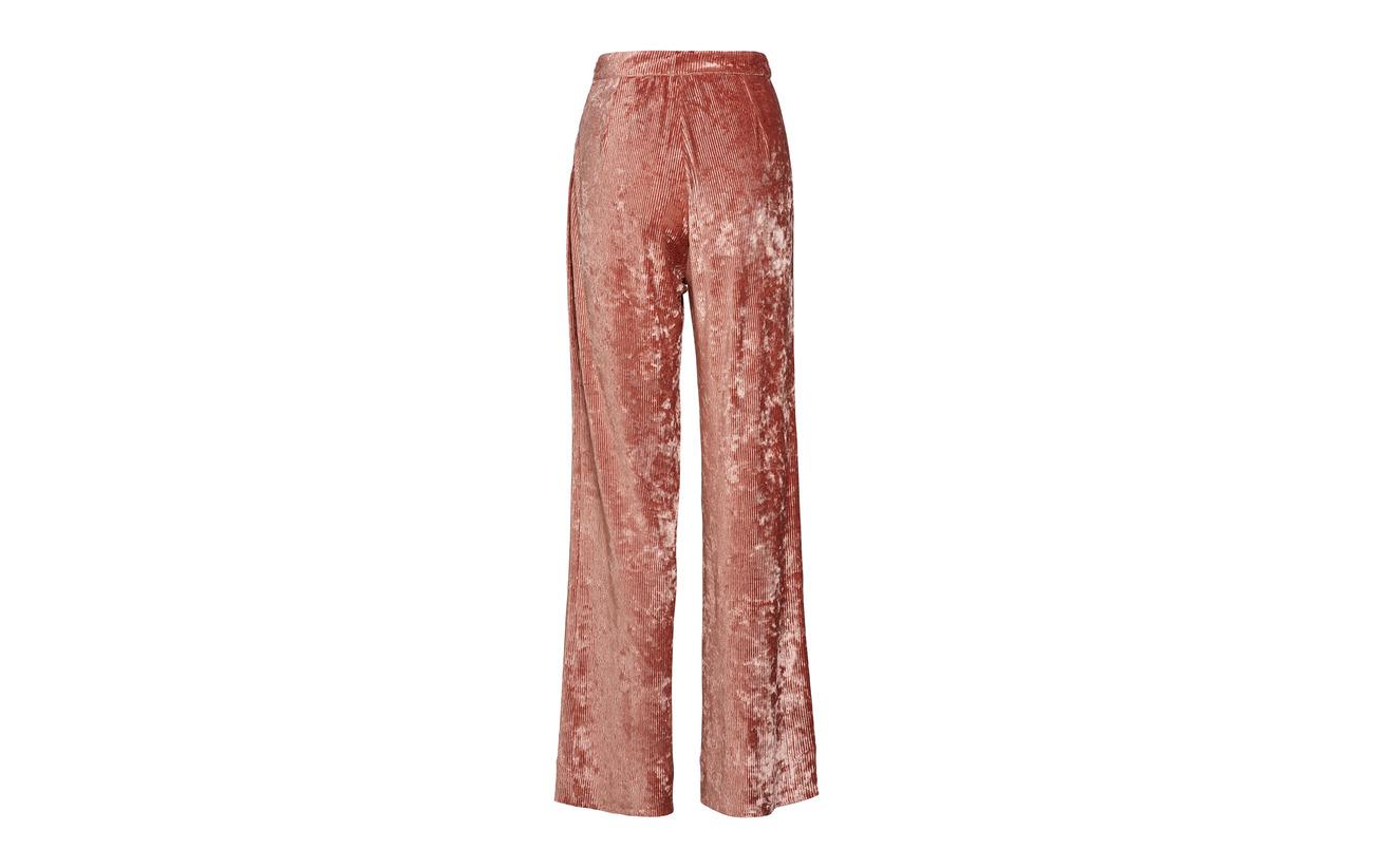 4 Elastane Rose 96 Gris Trousers Bardot Polyester Aéryne vFPUq