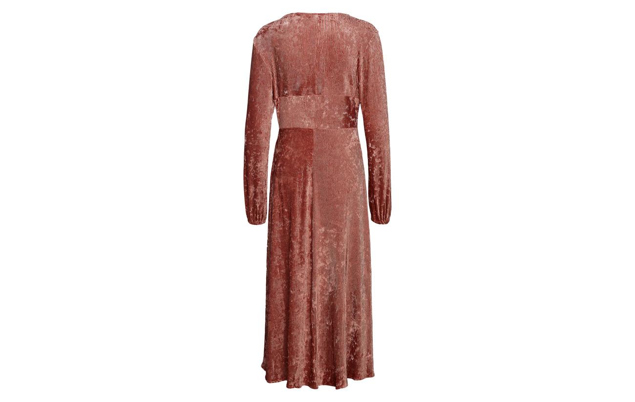 4 Polyester Lilou Aéryne Elastane Dress Rose Gris 96 XYYOxv