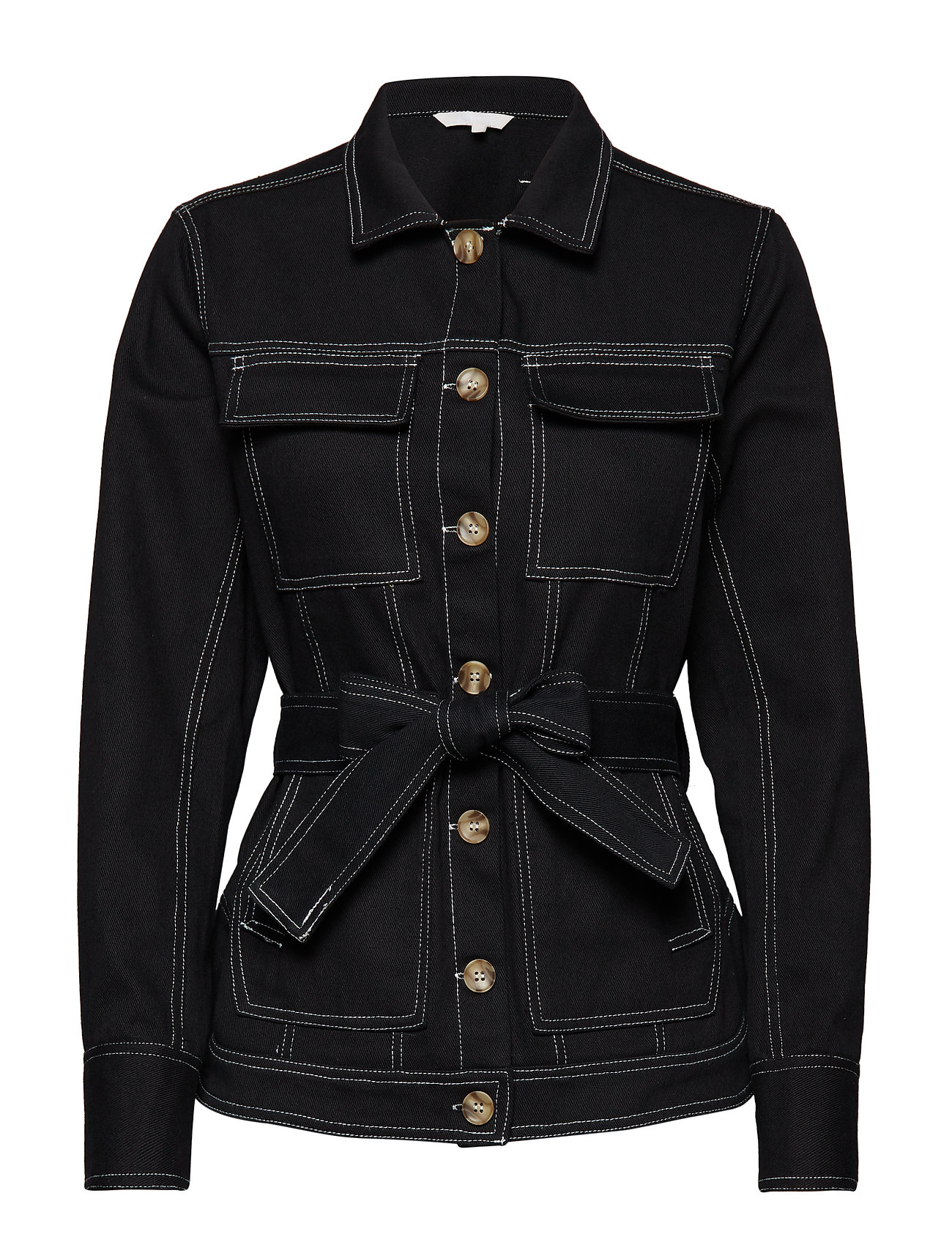 Aéryne Marwen denim jacket - NOIR