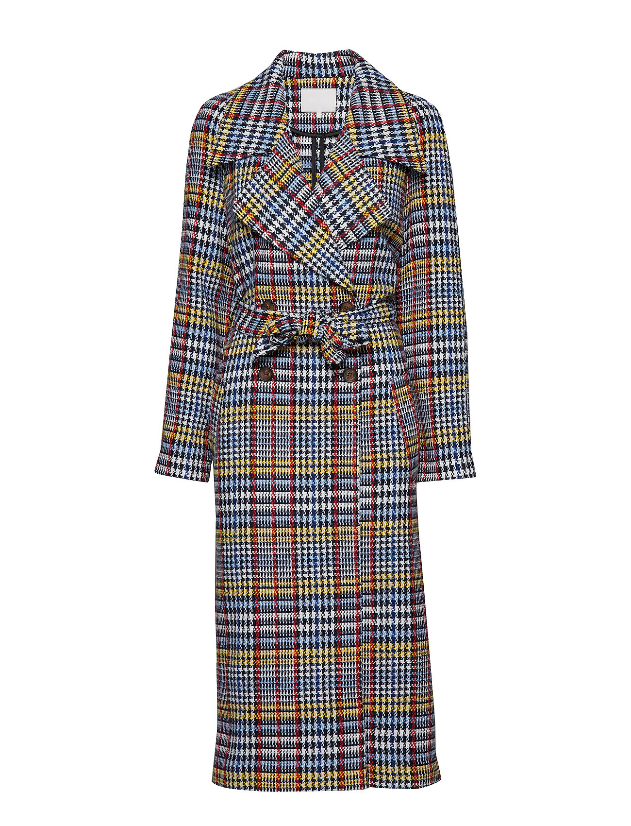 Aéryne Biancha spring coat - MIXED CHECK