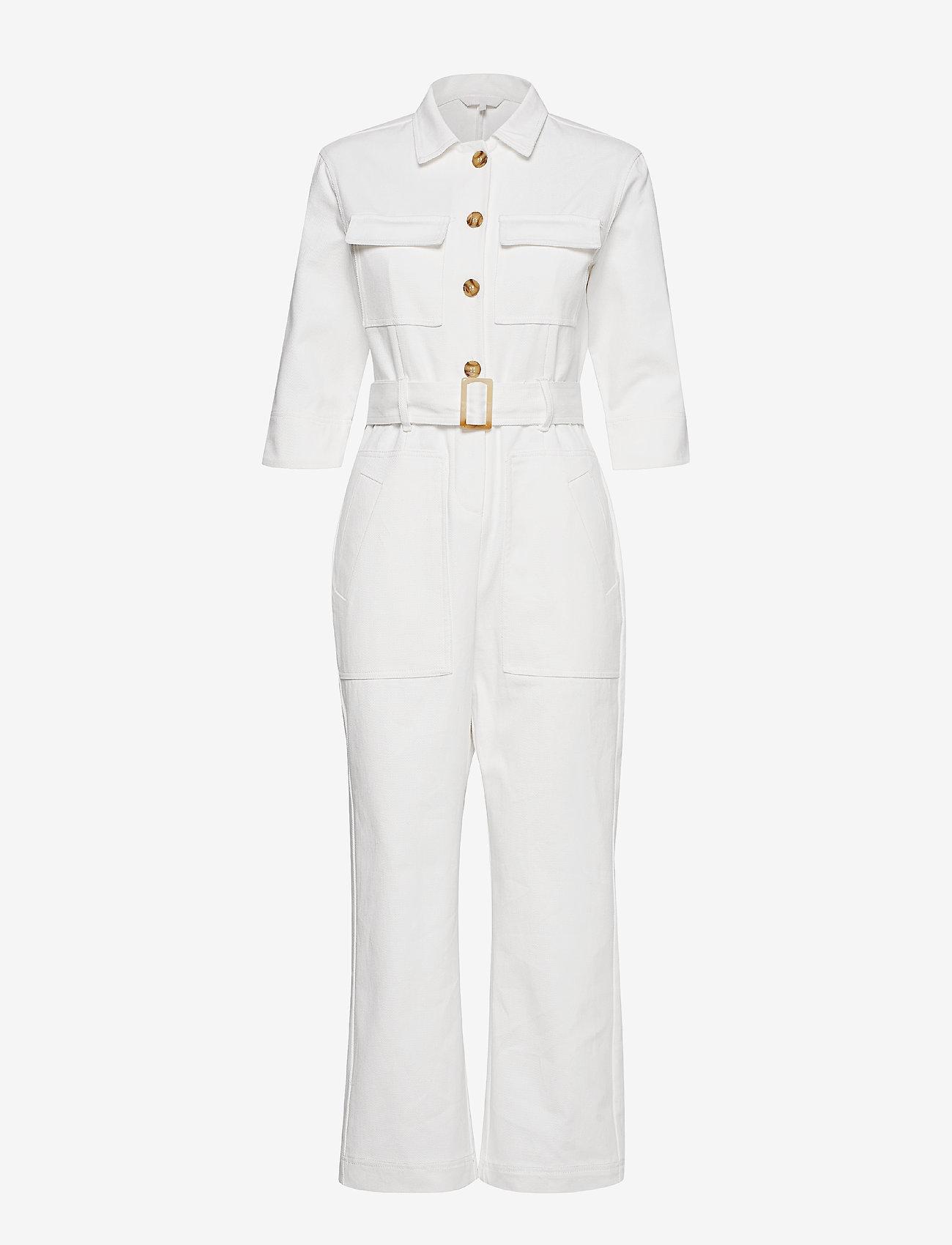 Aéryne - Birkin jumpsuit - buksedragter - blanc - 0