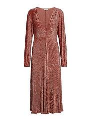 Lilou dress - ROSE GRIS