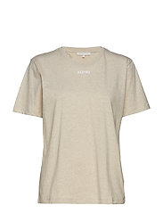 Essential t-shirt - BEIGE MELANGE