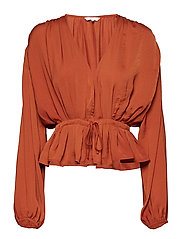 Elsa top - COGNAC