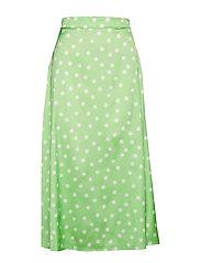 Mellie dots skirt - MINT DOT