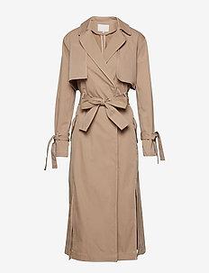 Lucille coat - BEIGE CLAIR