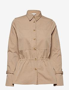 Nina shirt - BEIGE CLAIR