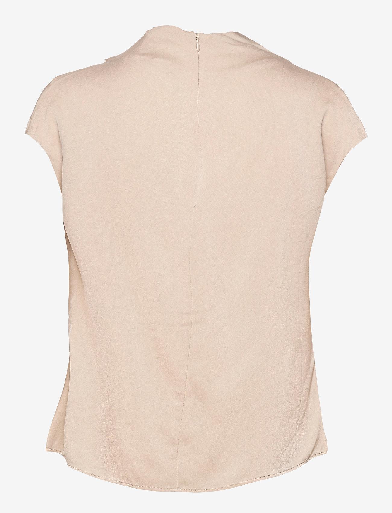 Ahlvar Gallery - Lima top - blouses met korte mouwen - powder - 2