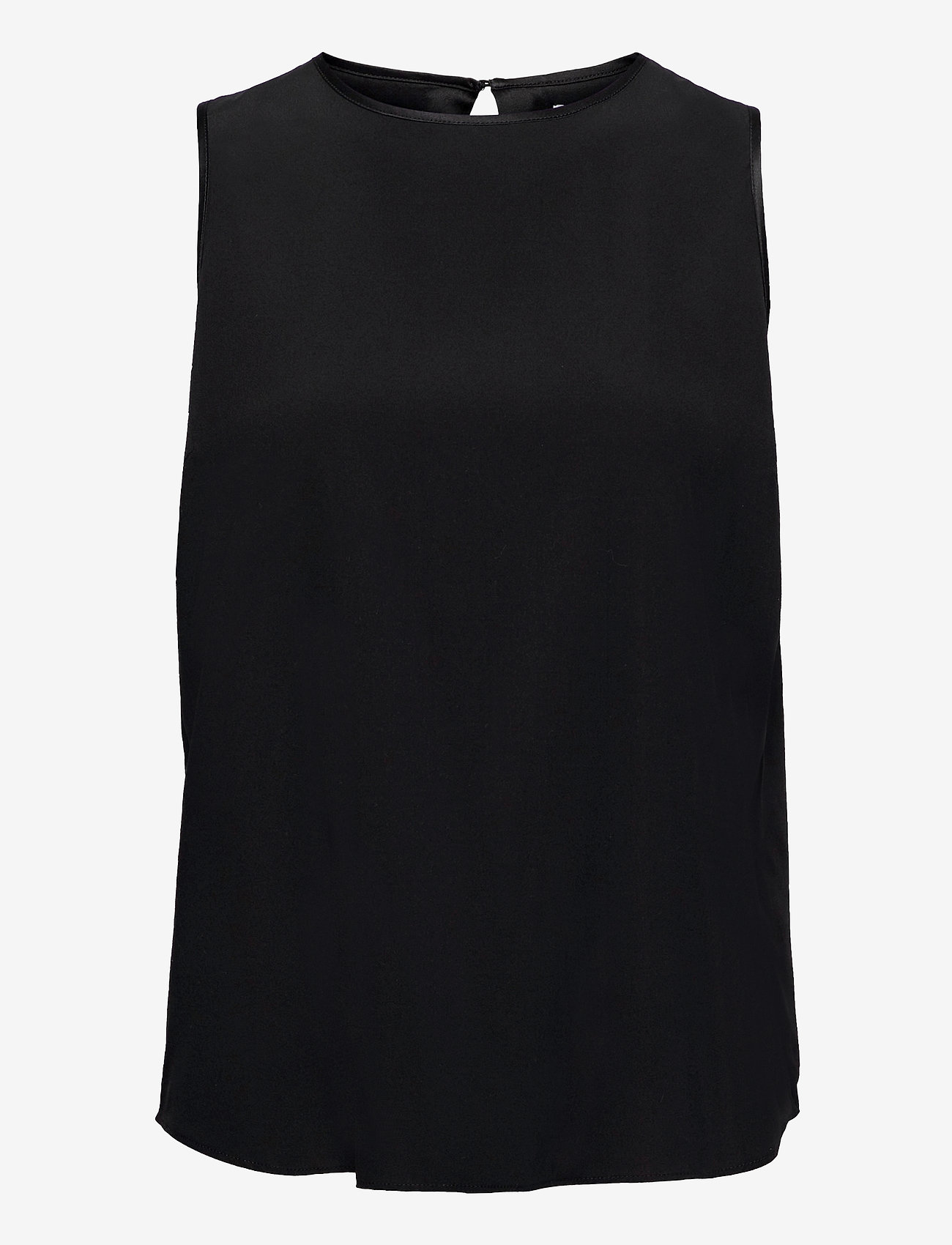 Ahlvar Gallery - Sahara tank - ermeløse bluser - black - 1