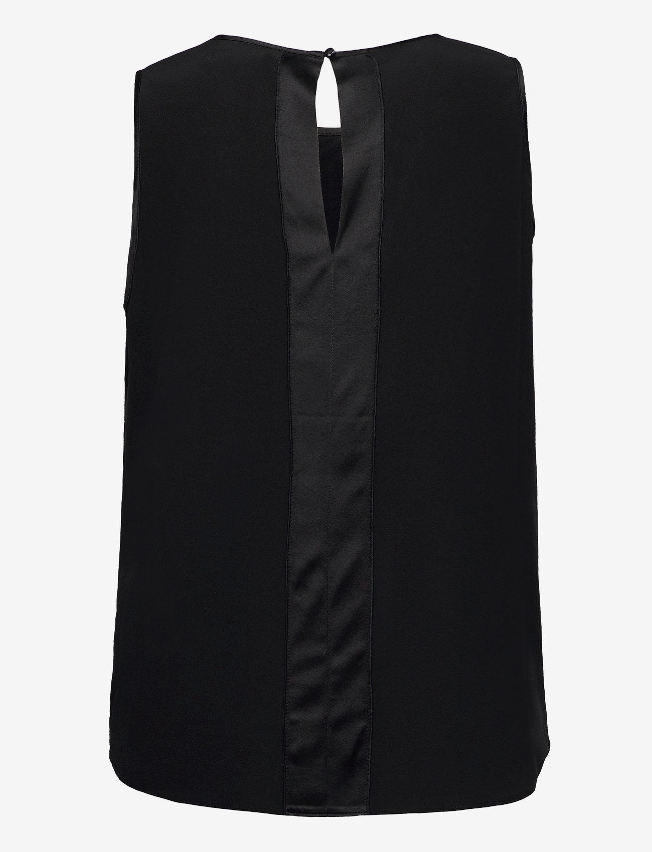 Ahlvar Gallery - Sahara tank - ermeløse bluser - black - 2