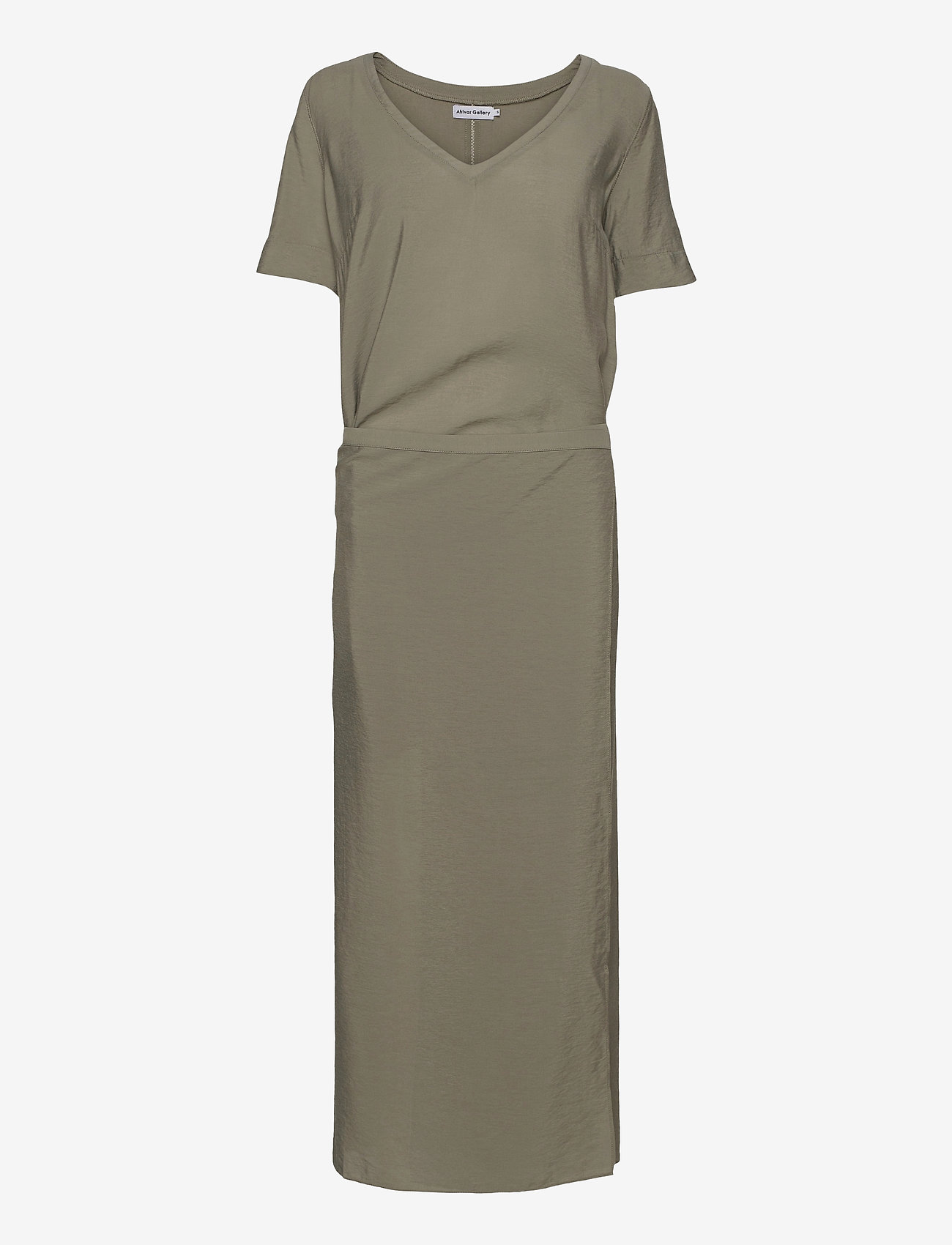 Ahlvar Gallery - Tamila dress - maxi dresses - light military - 1
