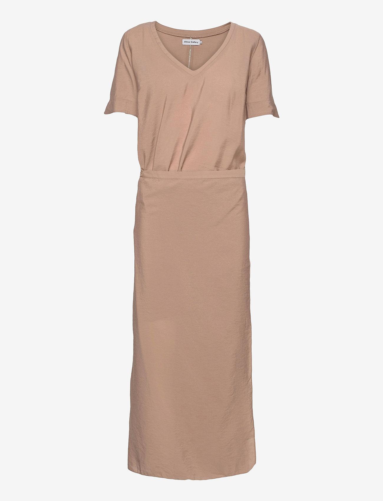 Ahlvar Gallery - Tamila dress - maxi dresses - sand - 1