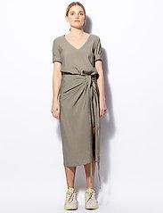 Ahlvar Gallery - Tamila dress - maxi dresses - light military - 0
