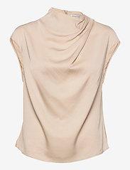 Ahlvar Gallery - Lima top - blouses met korte mouwen - powder - 1