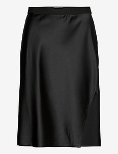 Hana party skirt - midi kjolar - black