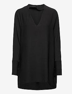 Leah tunic - tunikor - washed black