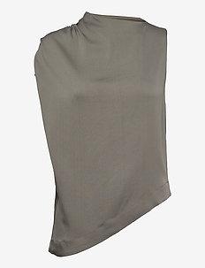 Sani top - sleeveless blouses - light military