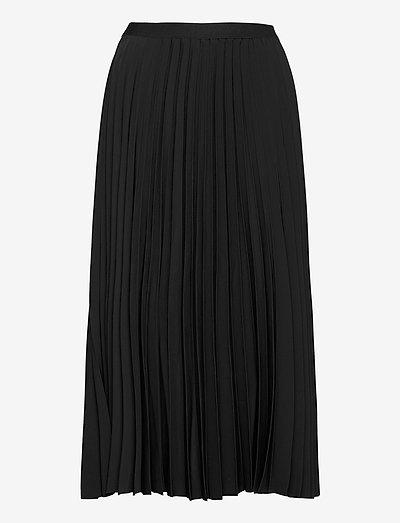 Yana skirt - midi-röcke - black