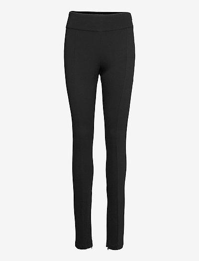 Elly trousers - slim fit bukser - black