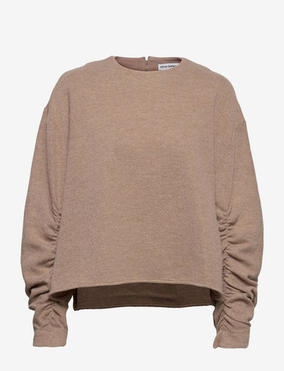 Kojo teddy sweater - gensere - sand