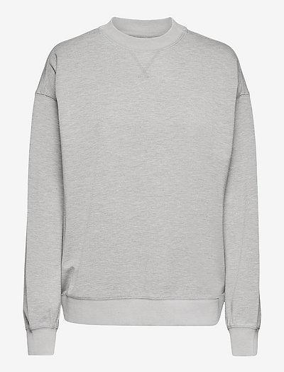 Thea sweatshirt - gensere og hettegensere - grey melange