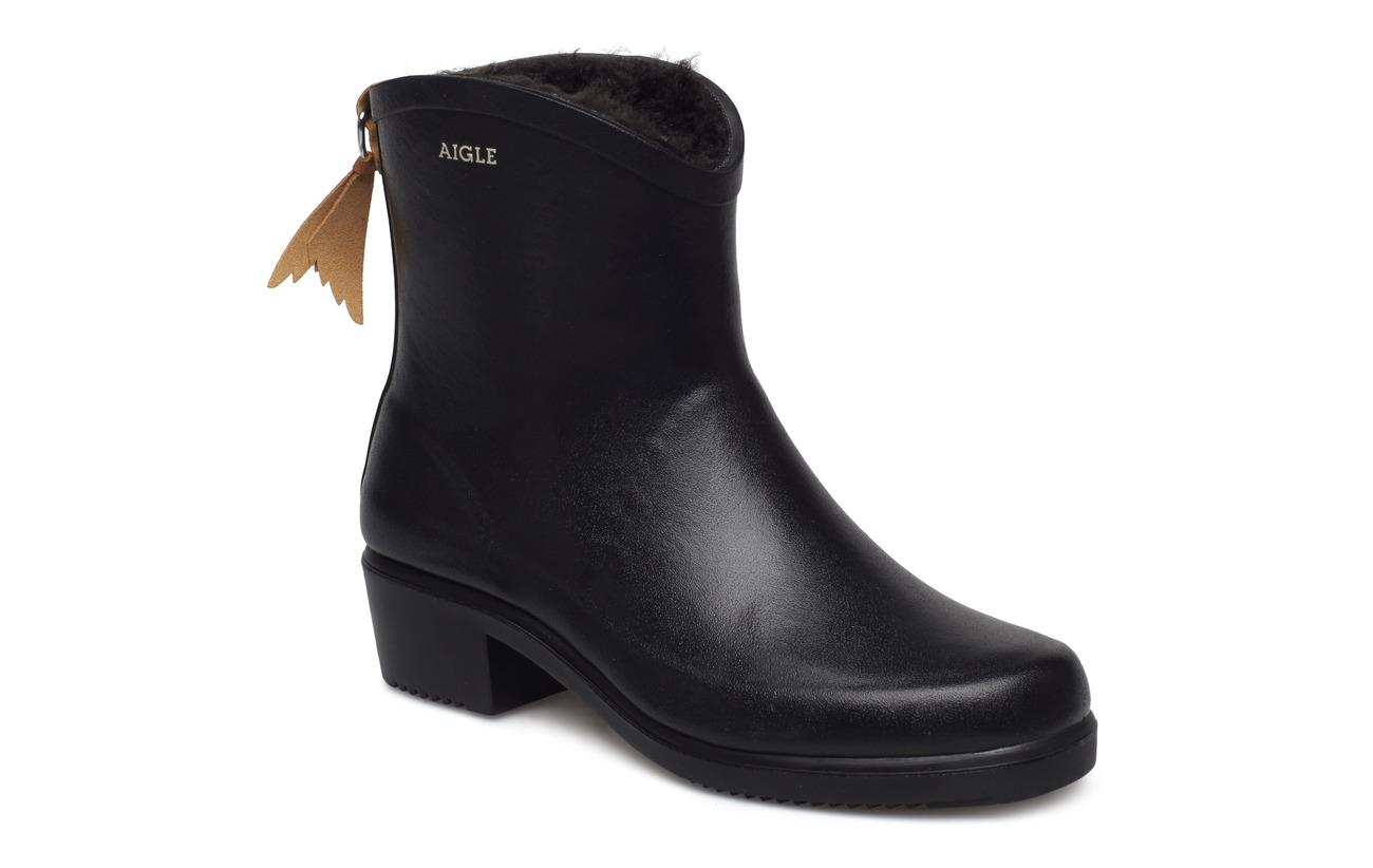Aigle AI MISS JULIETTE BOTTIL FUR NO - NOIR